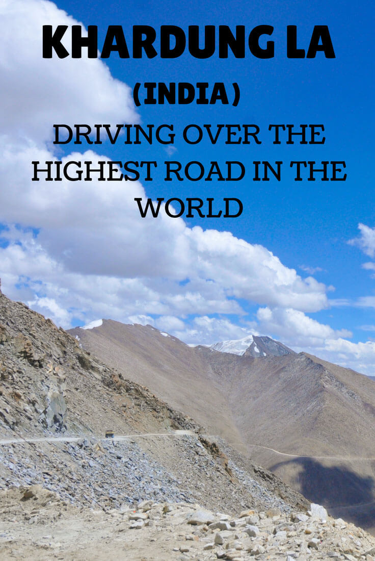Khardung la, the highest road in the world