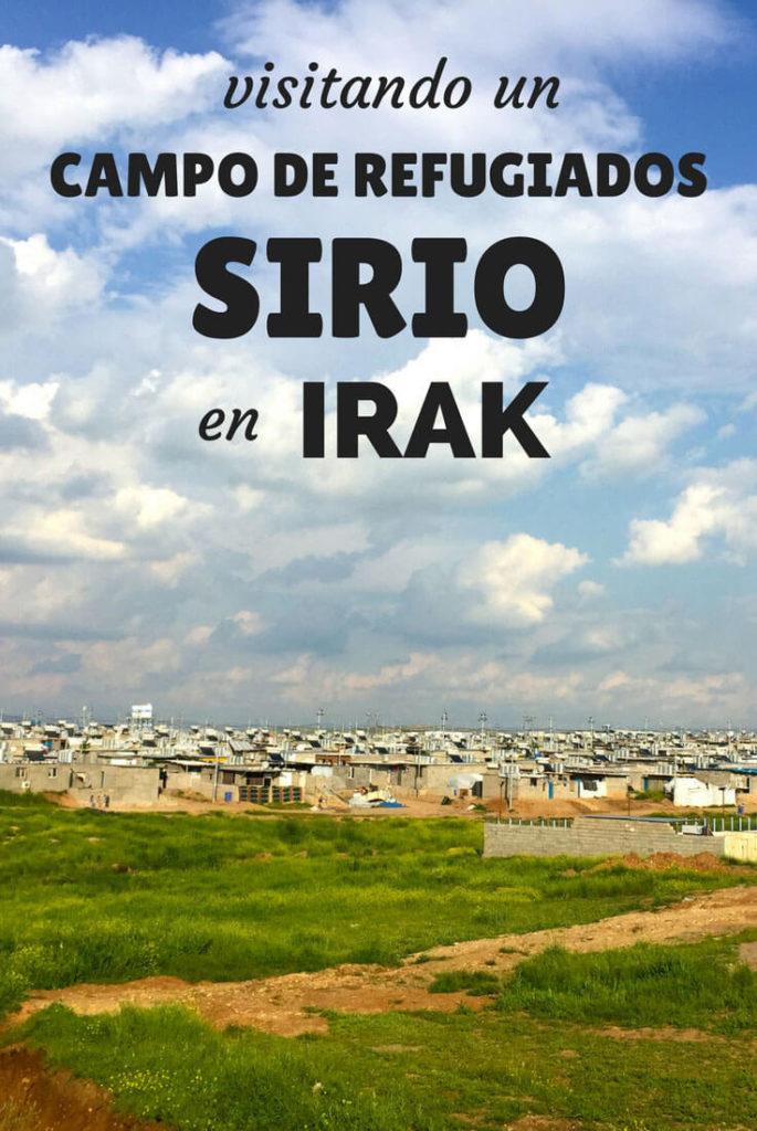 Campo de refugiados sirio en Irak