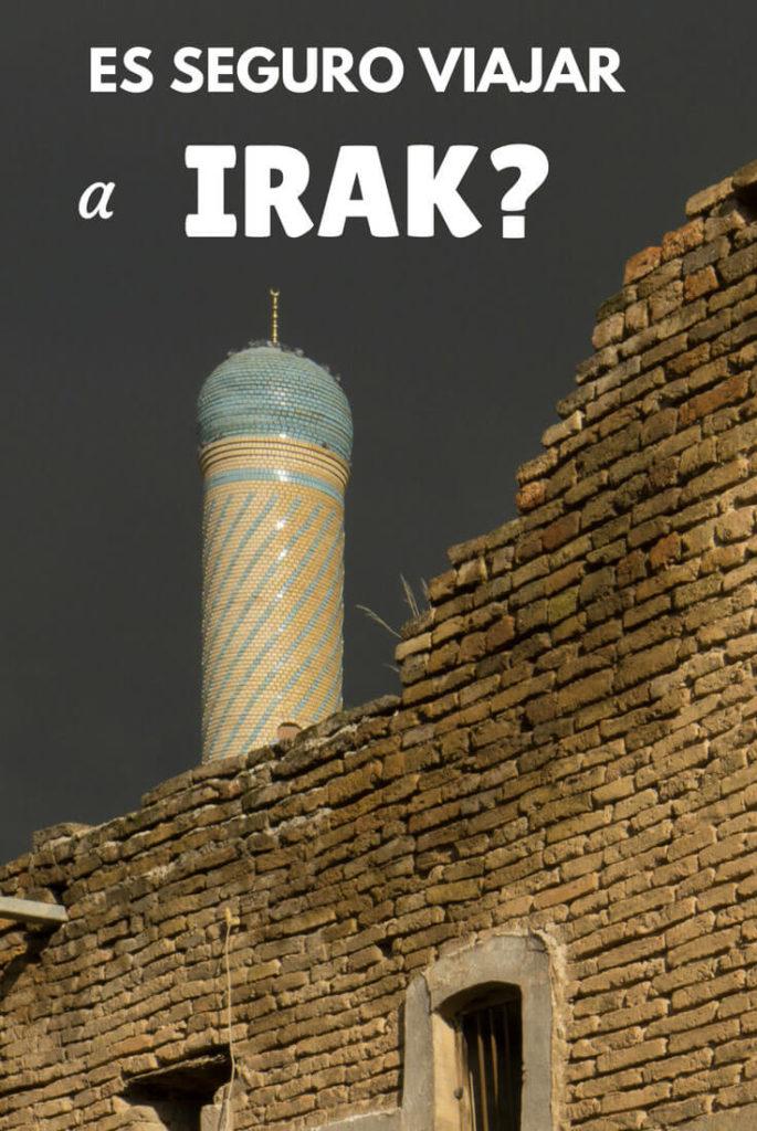 Es seguro viajar a Irak?