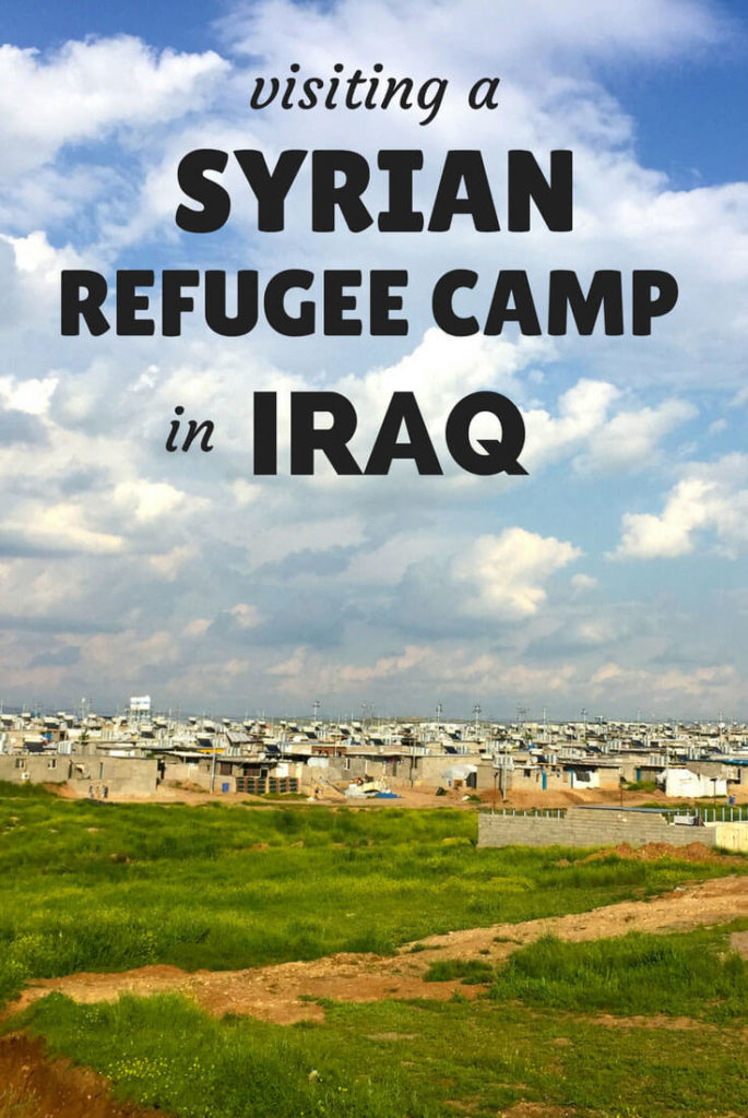 Syrian refugee camp Iraq