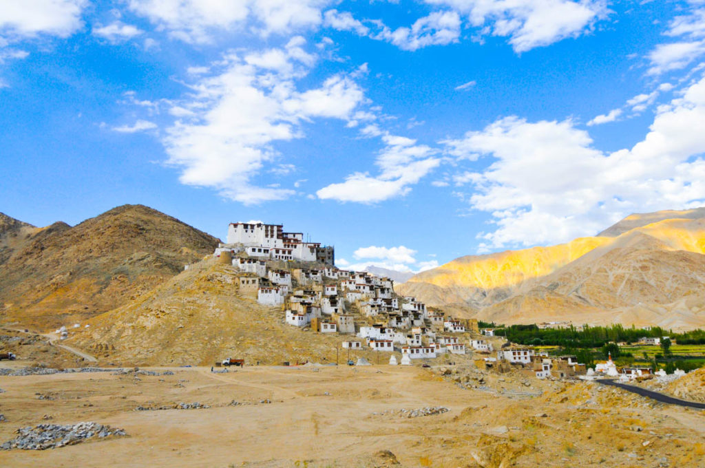 Chemrey gompa / monastery in Ladakh, one of the most impressive ones