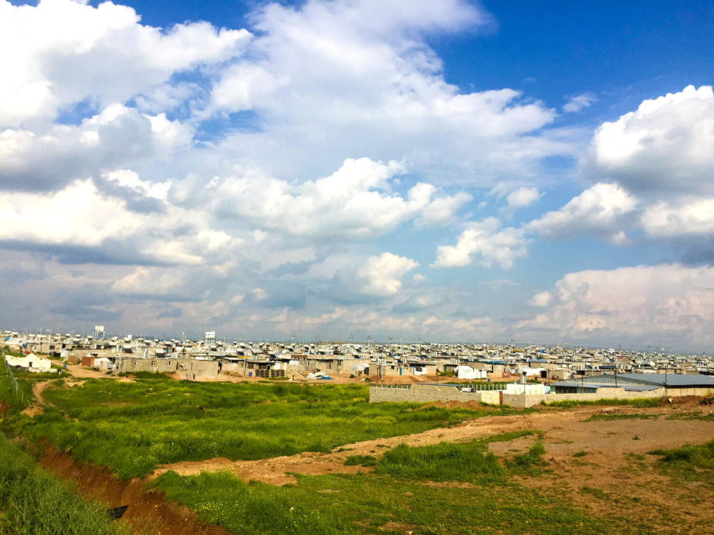 Darashakran, a Syrian refugee camp in Iraq