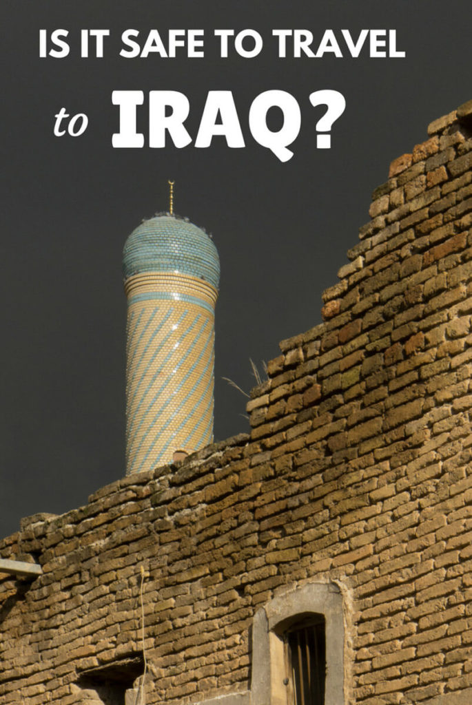Is it safe to travel to Iraq?