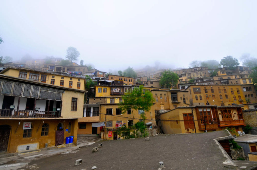 aldea de Masouleh en Irán