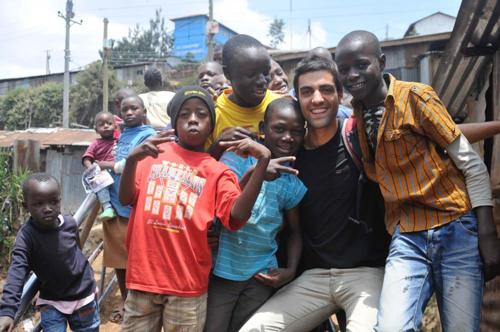 Children of Kibera slums