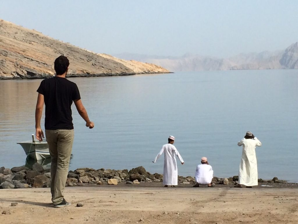 Who is behind Against the Compass? Meeting some Omani locals
