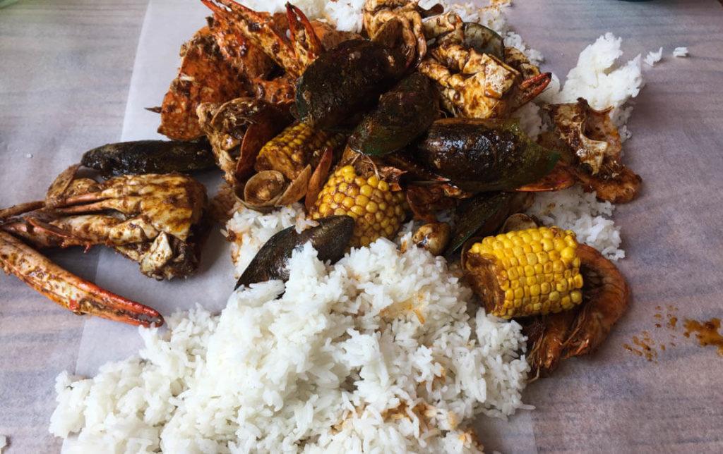 Dampa in Dubai is the favorite restaurants for Filipinos