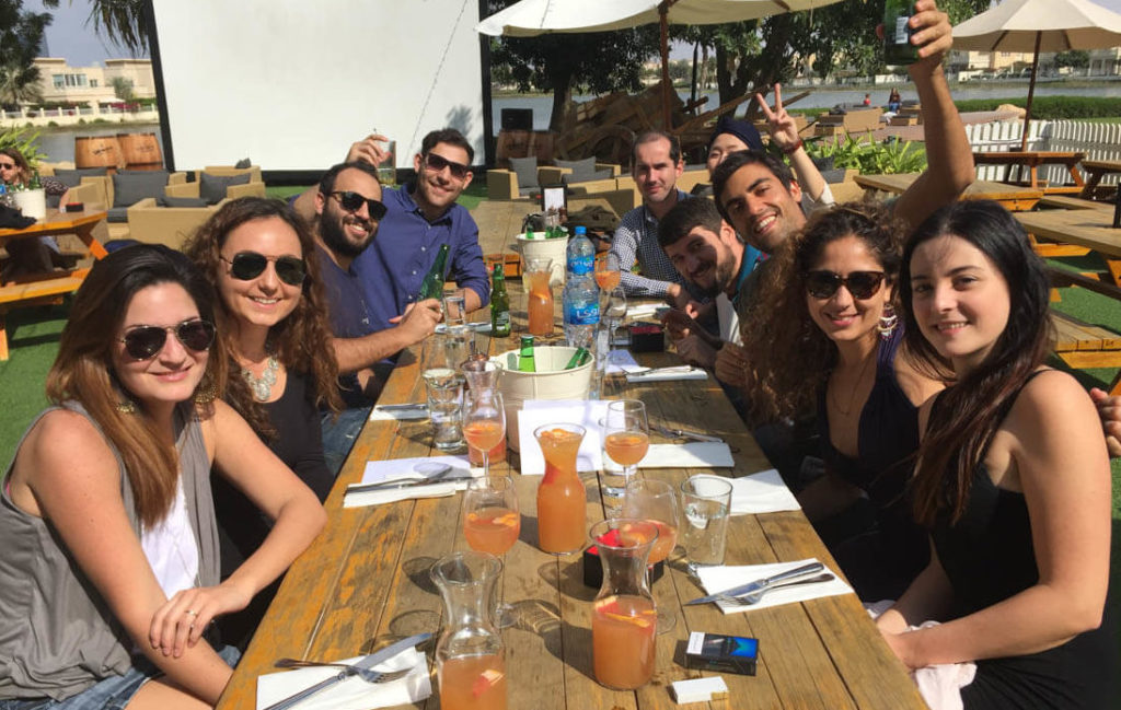 Brunch in Dubai is sort of a ritual on Fridays