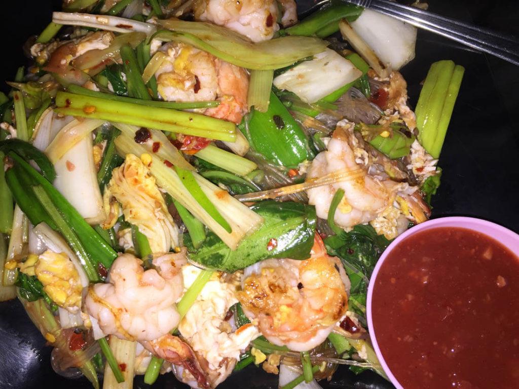 Thai Glass noodles in smiling BKK
