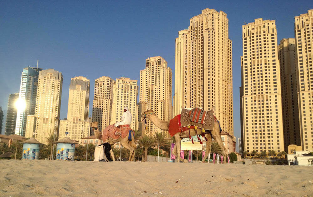 Precio para viajar a Dubai