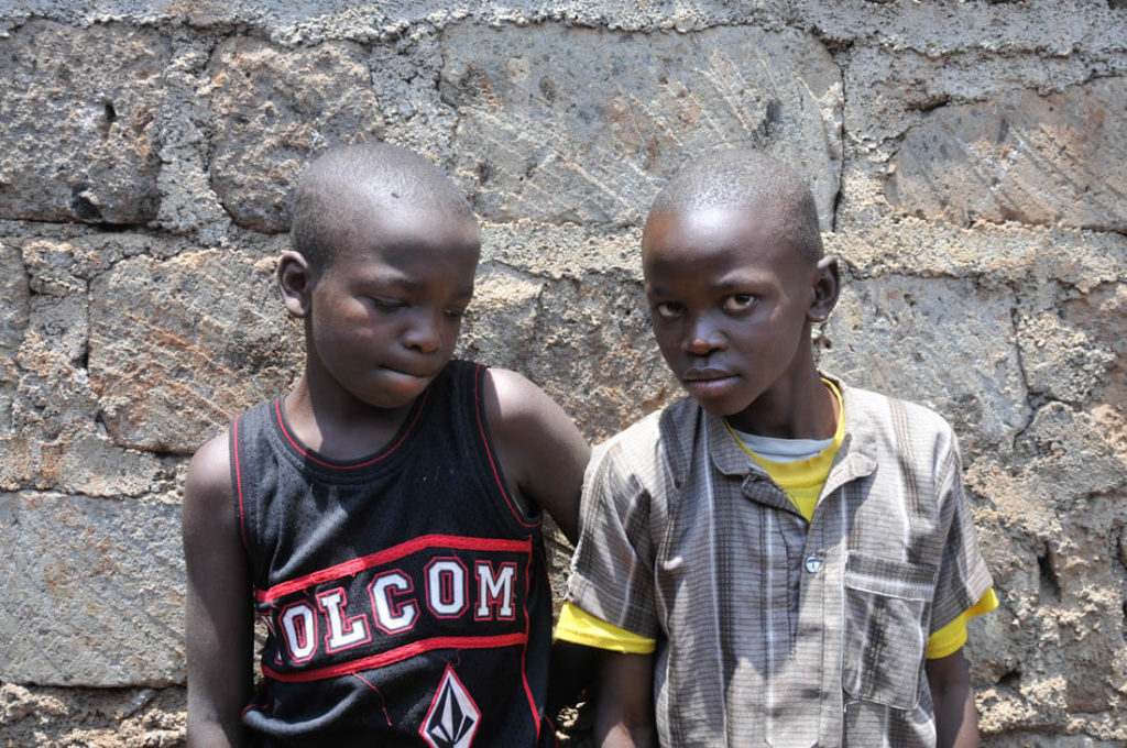 More children from the slums