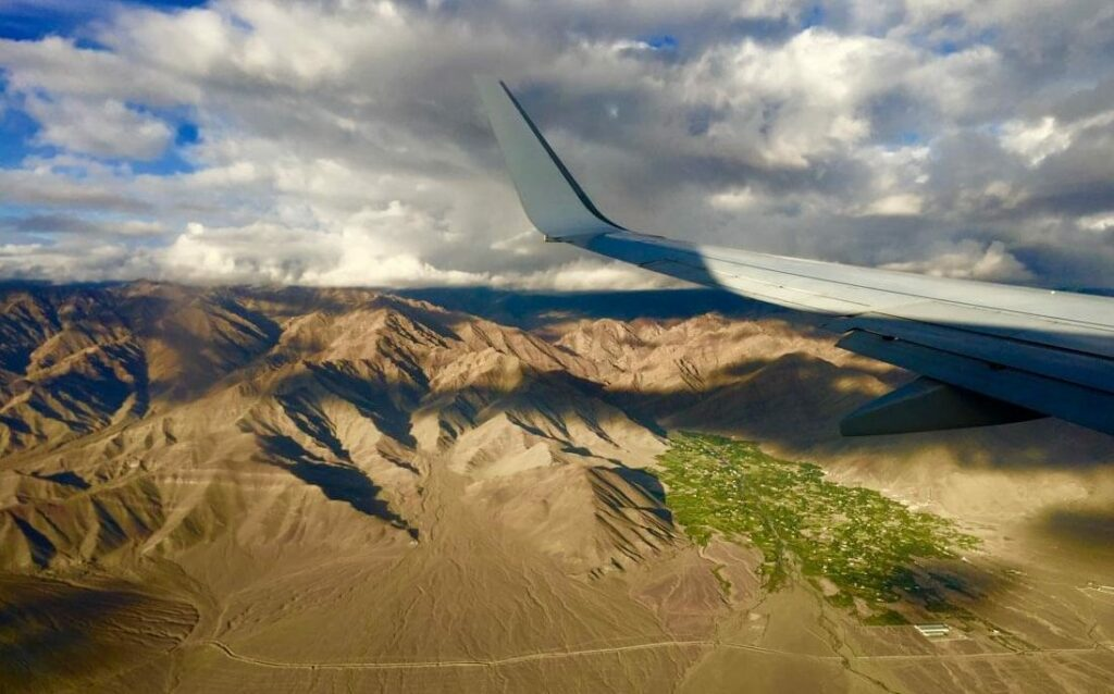 Landing in Ladakh is one of the most memorable landings ever