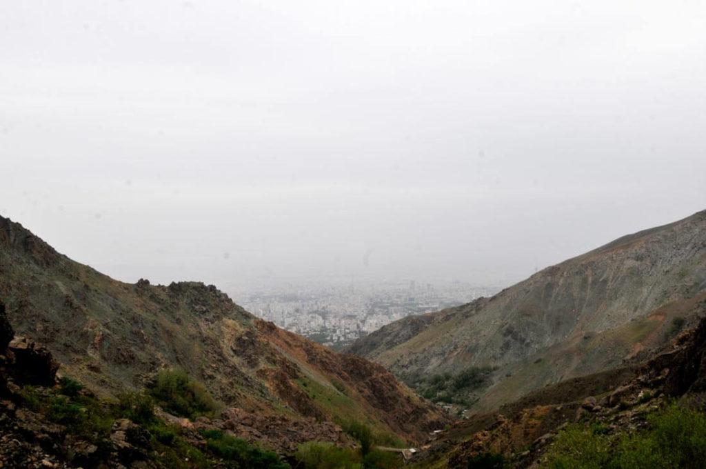 Tehran air pollution, Mount Tochal