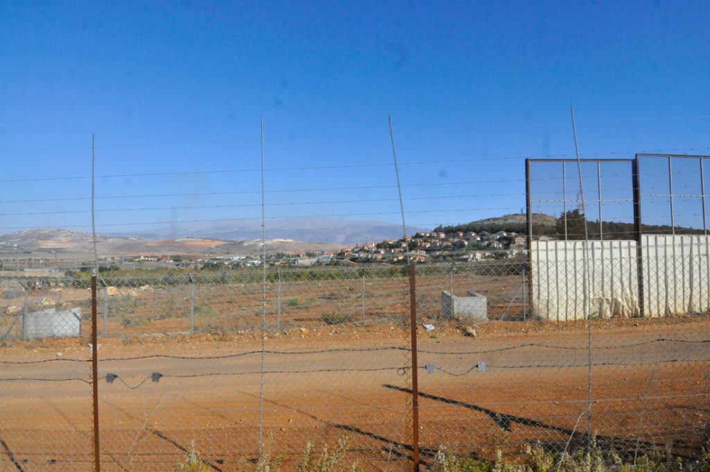 Across the Lebanese border - A Israeli village