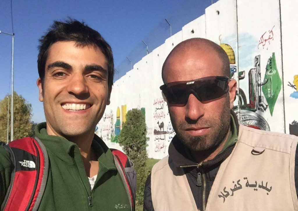 Selfie with a Lebanese soldier