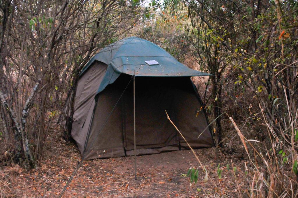 The tents of Mara Explorers camp