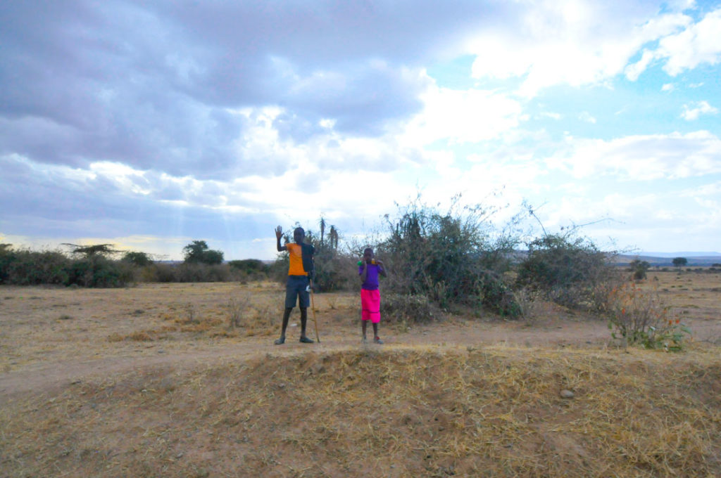 The road from Narok to Sekenani gate