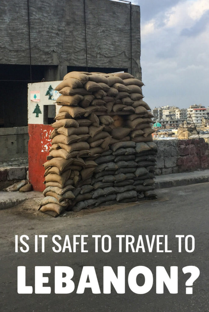 Is Lebanon safe?