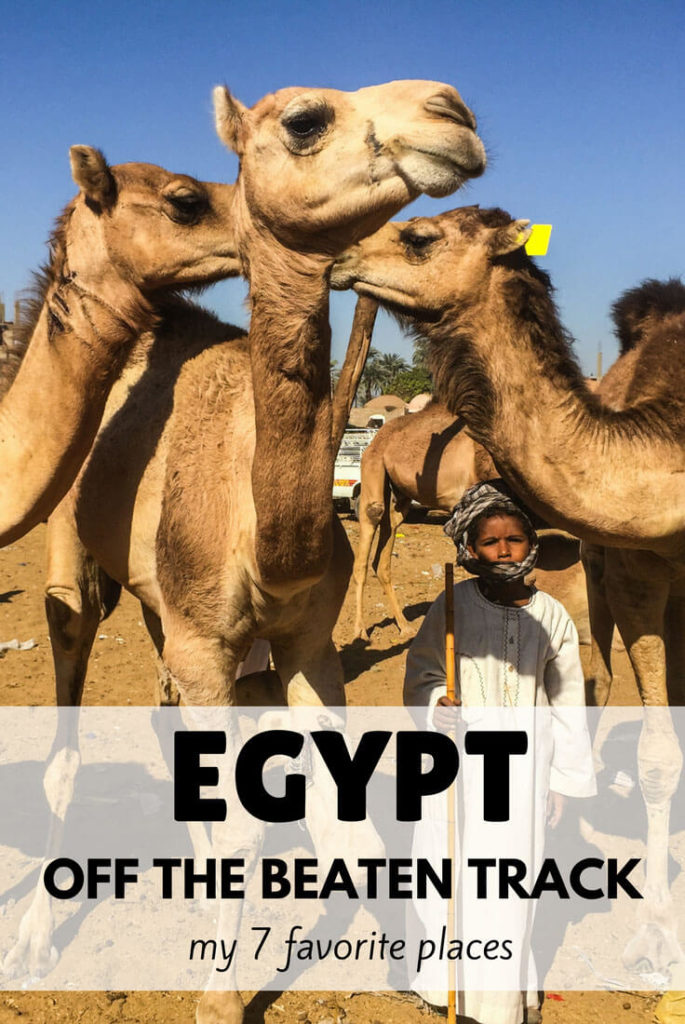 Egypt off the beaten track