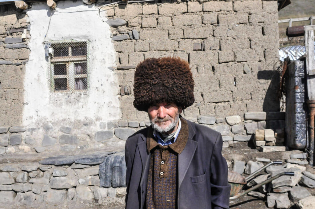 Azerbaijani people are a mix between Iranians, Turkish and Russians
