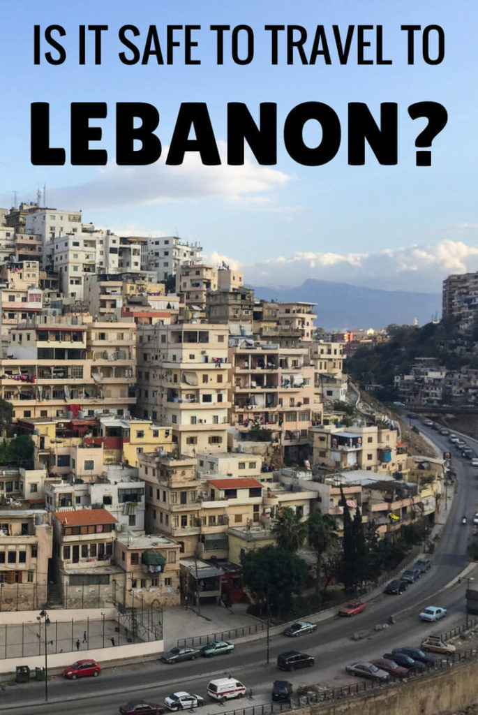 Is it safe to travel to Lebanon