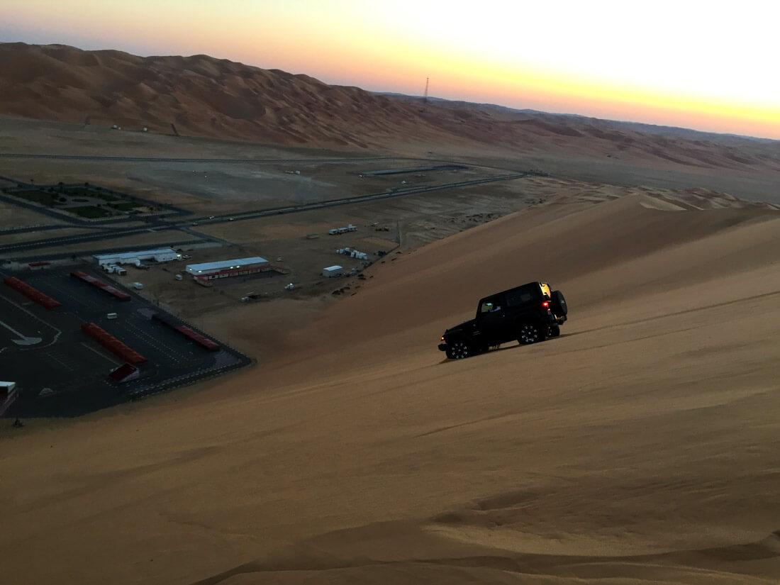 Liwa Oasis activities