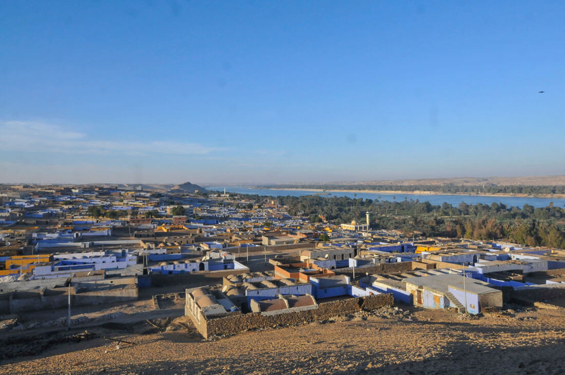 A Nubian village in Aswan