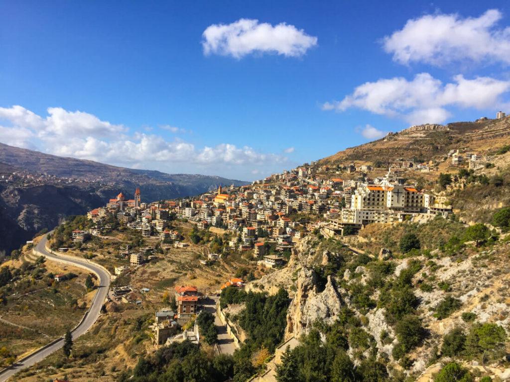 Qadisha Valley, located in the north of Lebanon