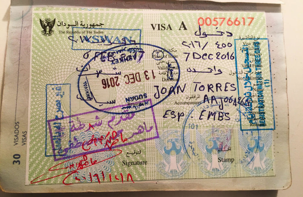 How to get a visa for sudan in 2018 against the compass sudan visa altavistaventures Image collections