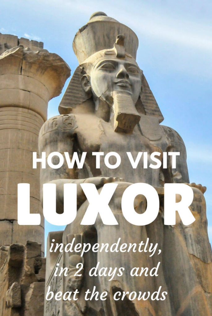 How to visit Luxor