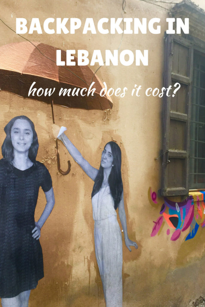 backpack Lebanon