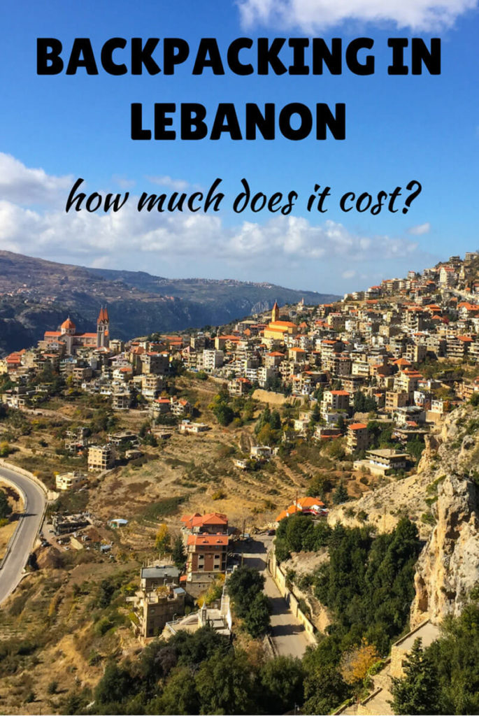 backpacking in Lebanon