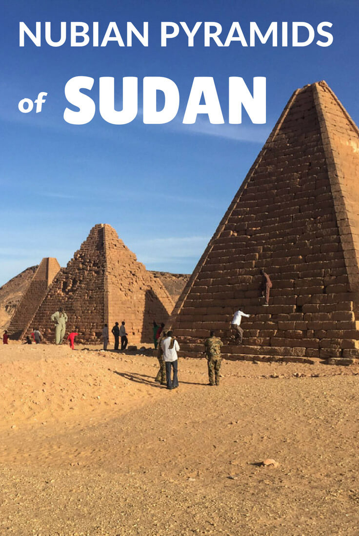 The Nubian pyramids of Sudan