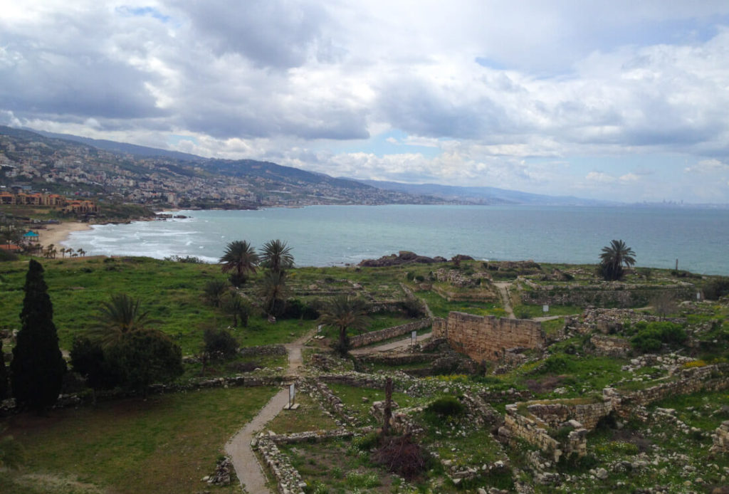 The ruins of Byblos, Lebanon