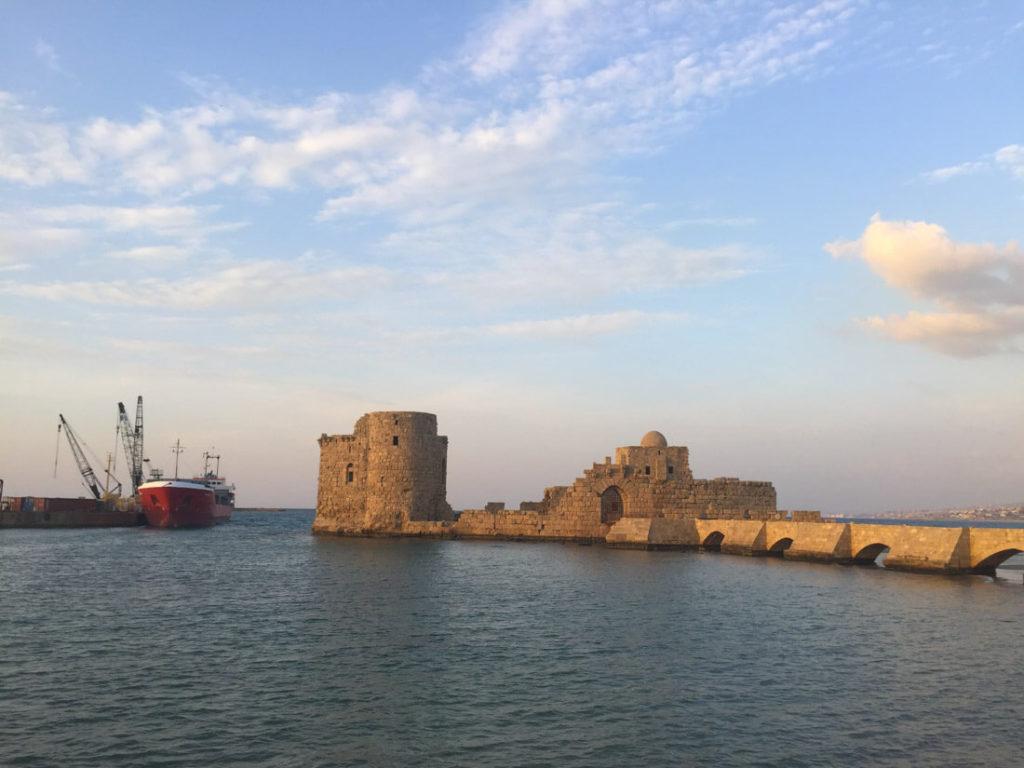 The castle of Saida