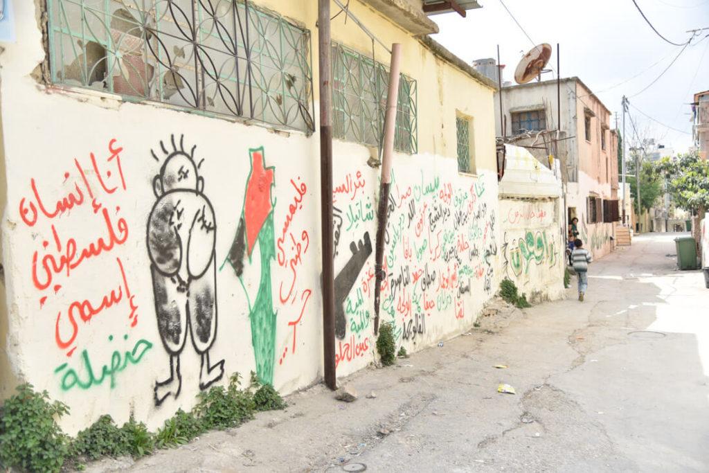 Handala, Palestinian refugees symbol