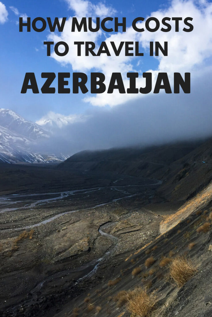 How much costs to travel in Azerbaijan