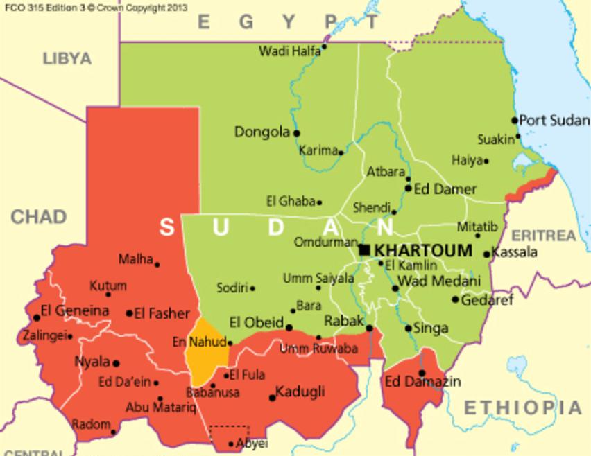Sudan safe areas