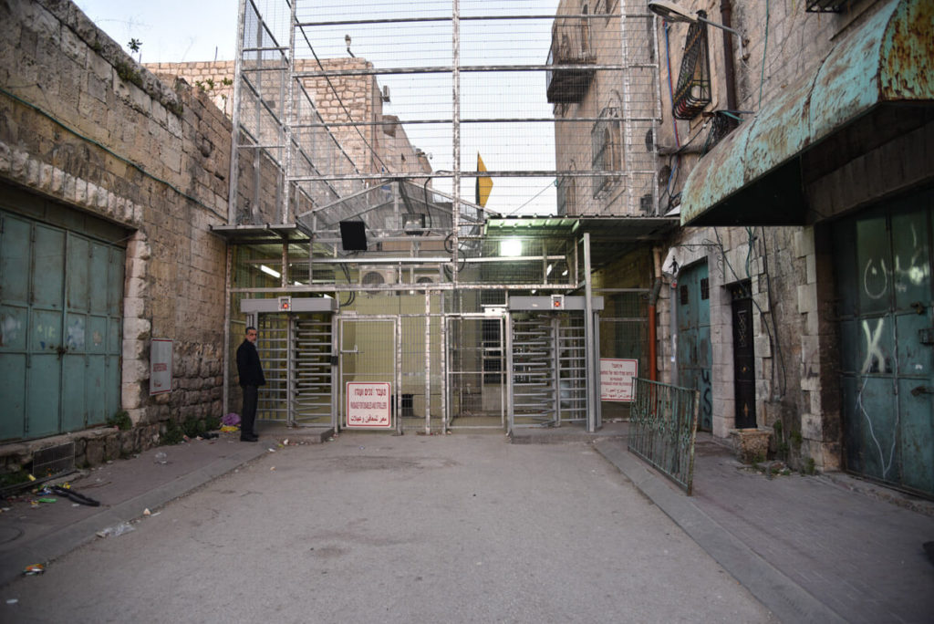 Hebron checkpoint