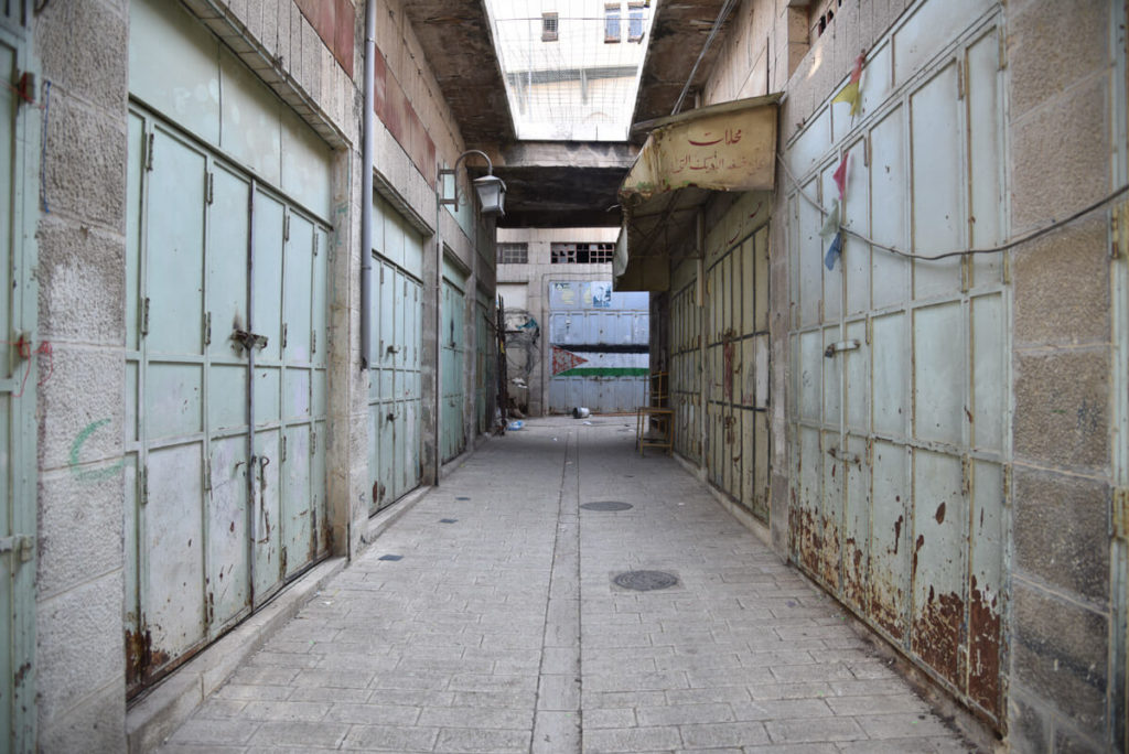 Abandoned Old City Hebron