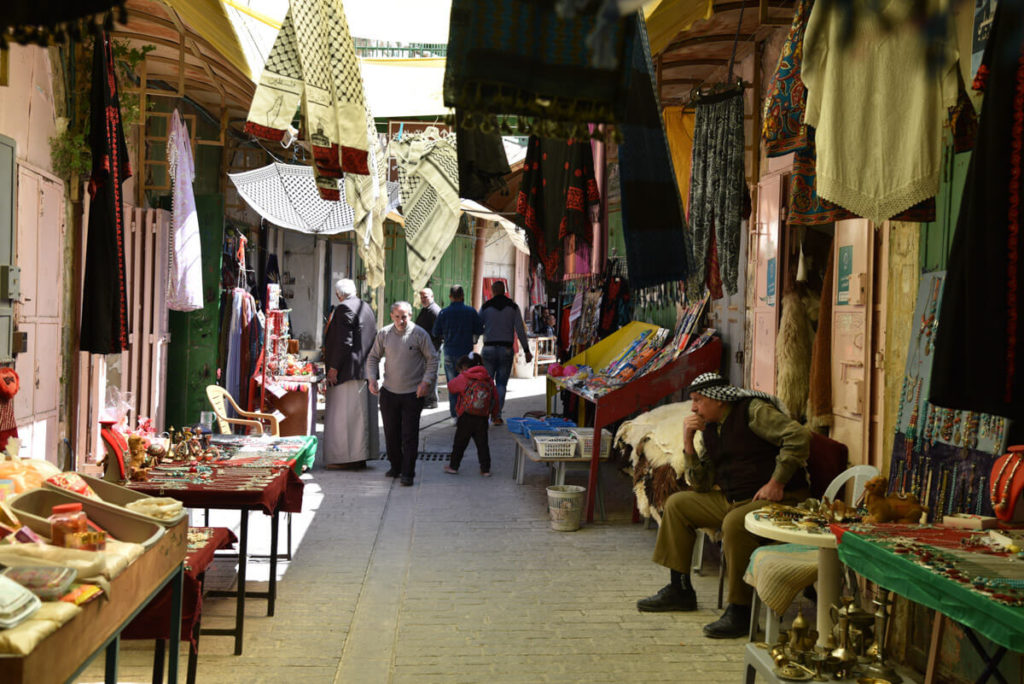 Visiting Hebron - The Old City souq