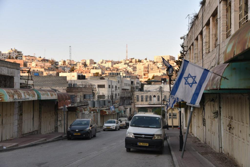 The Jewish settlement of Hebrón