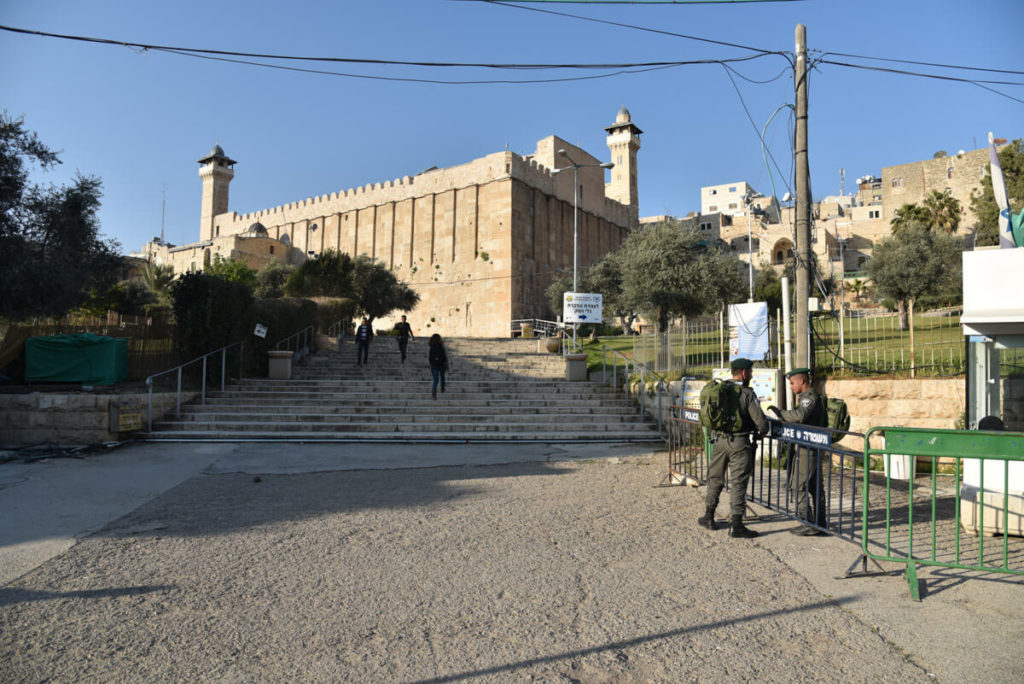 Visiting Hebron - The Tomb of the Patriarchs