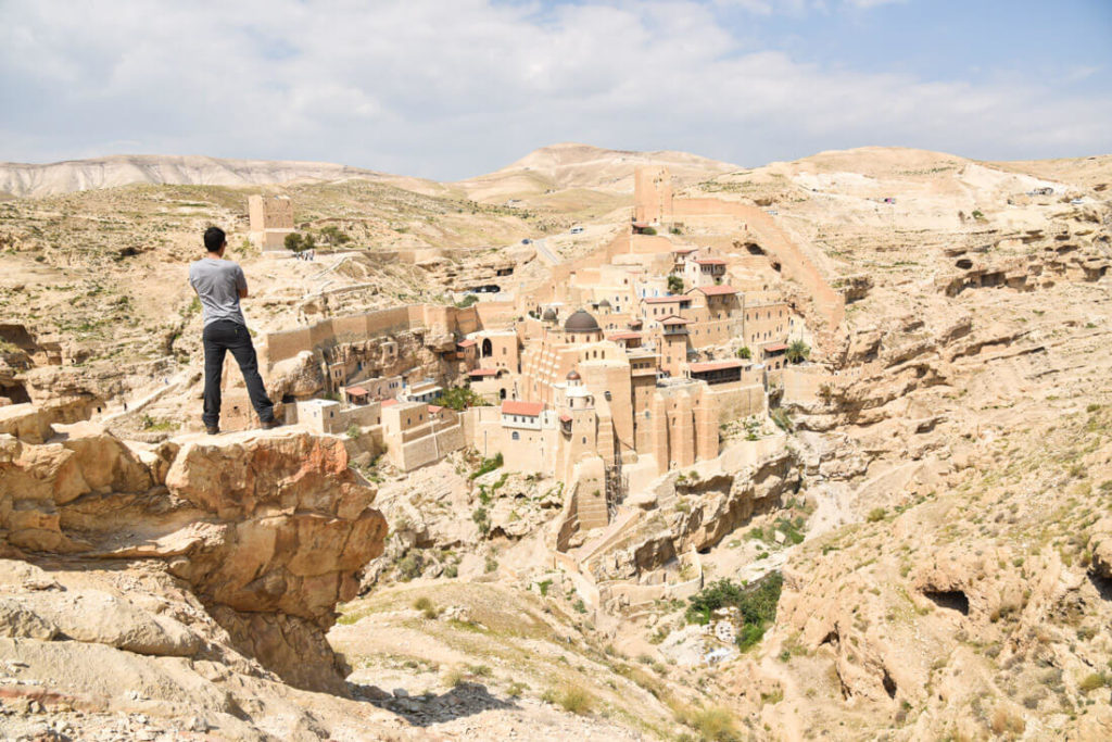 Mar Saba Greek Orthodox monastery,