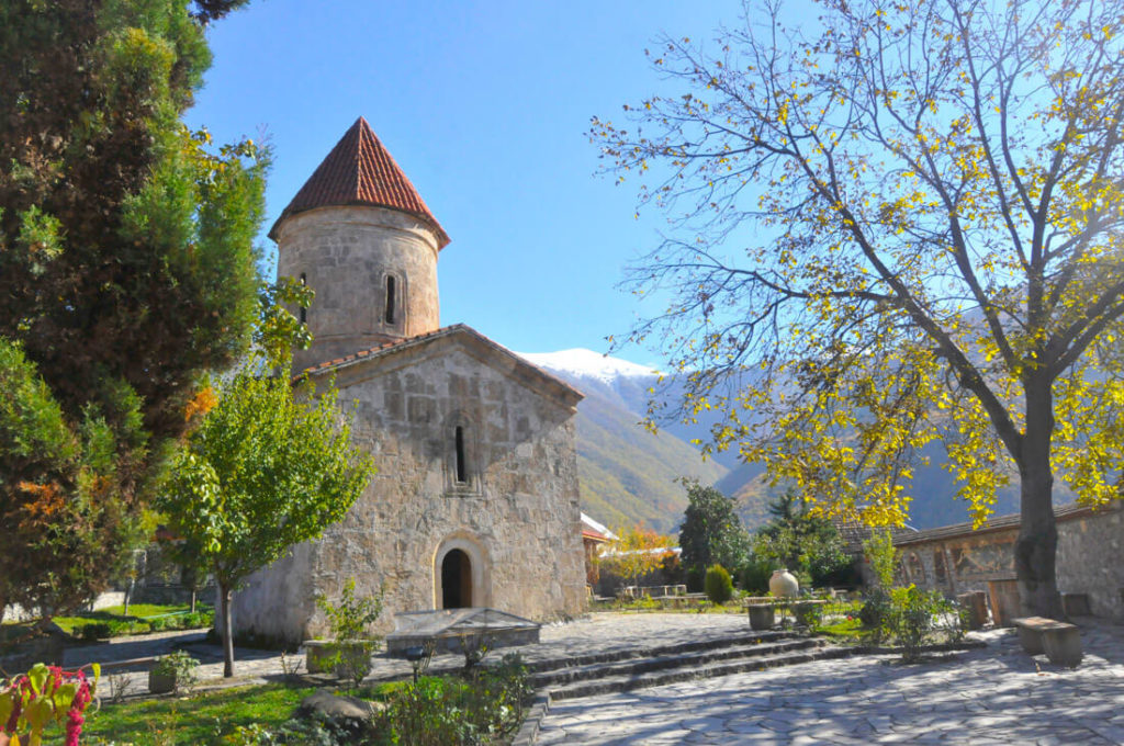 The Albanian church of Kish