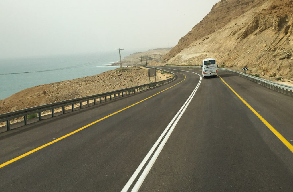 Dead Sea Road Israel