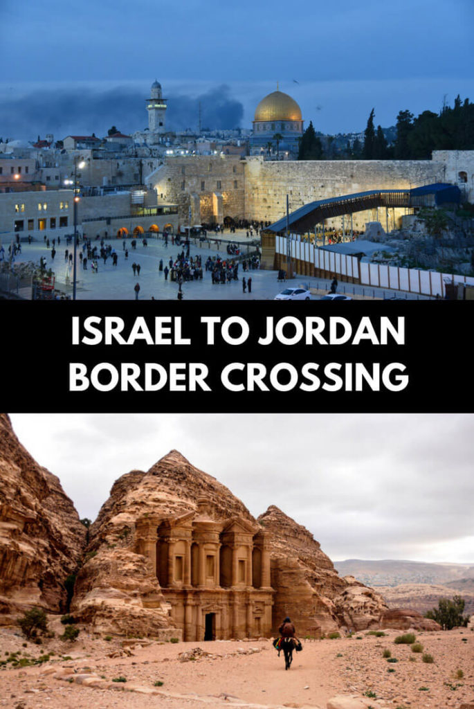 Crossing into Jordan from Israel
