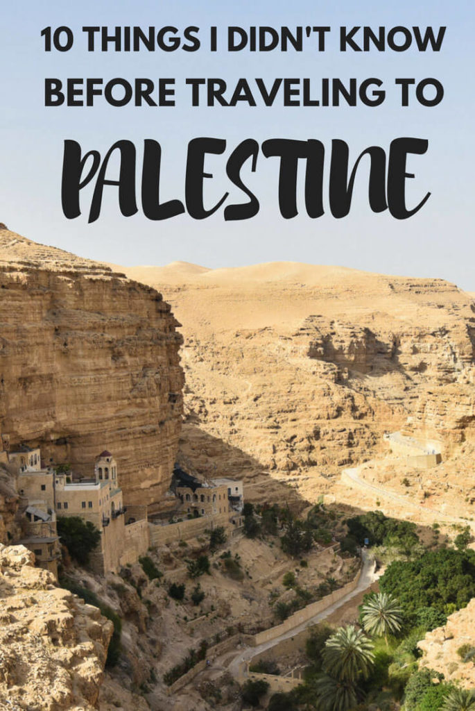 Traveling to Palestine