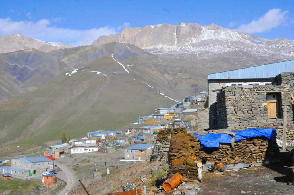 The village of Xinaliq