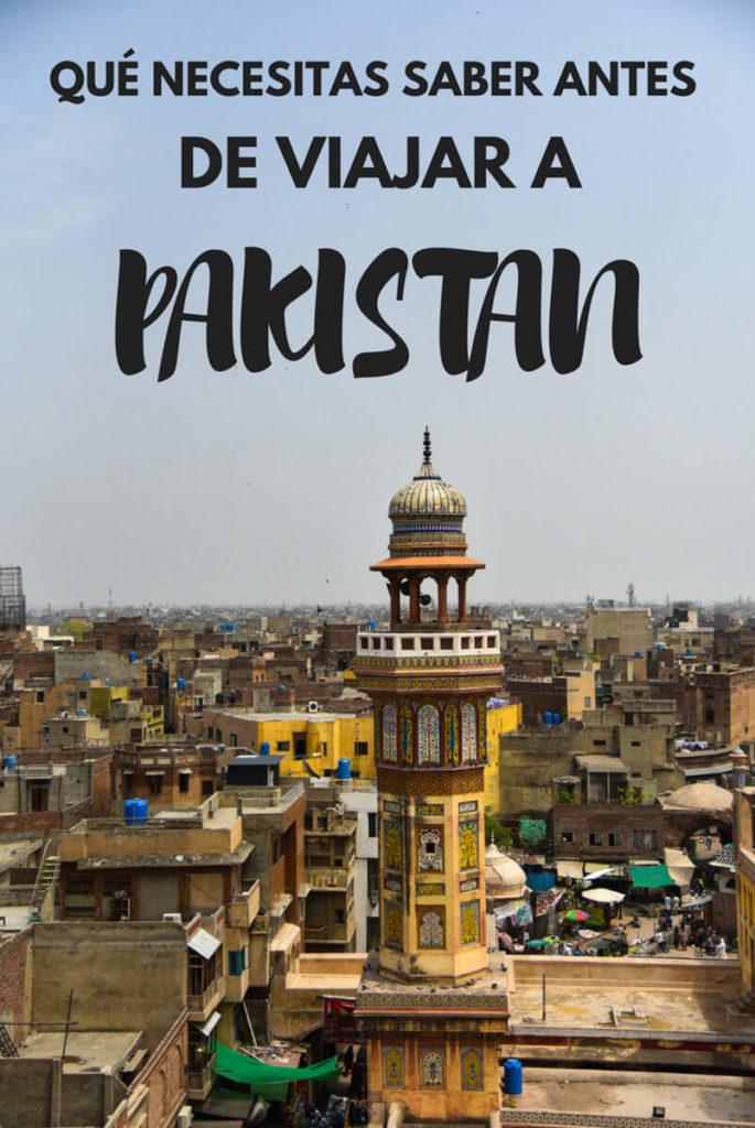 viaje a Pakistán